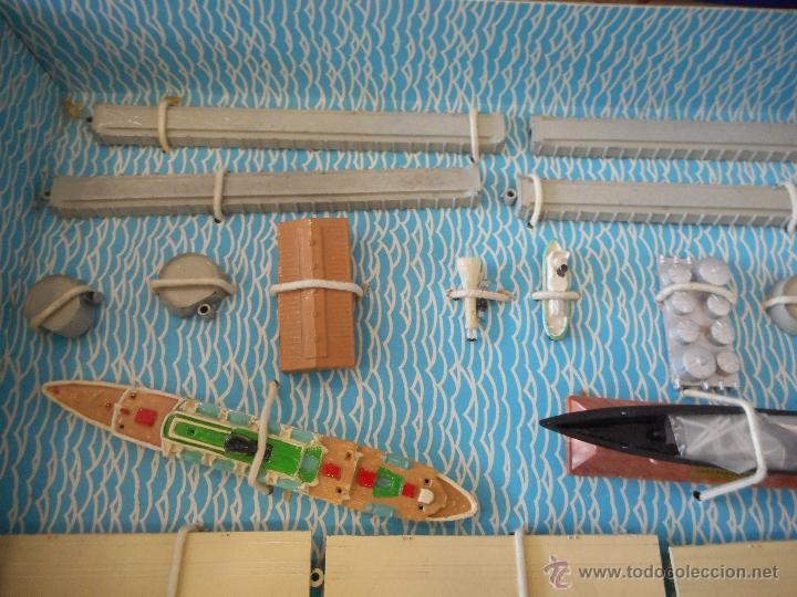 Juguetes antiguos: Puerto Mini Ships. Anguplas - Foto 2 - 54230770