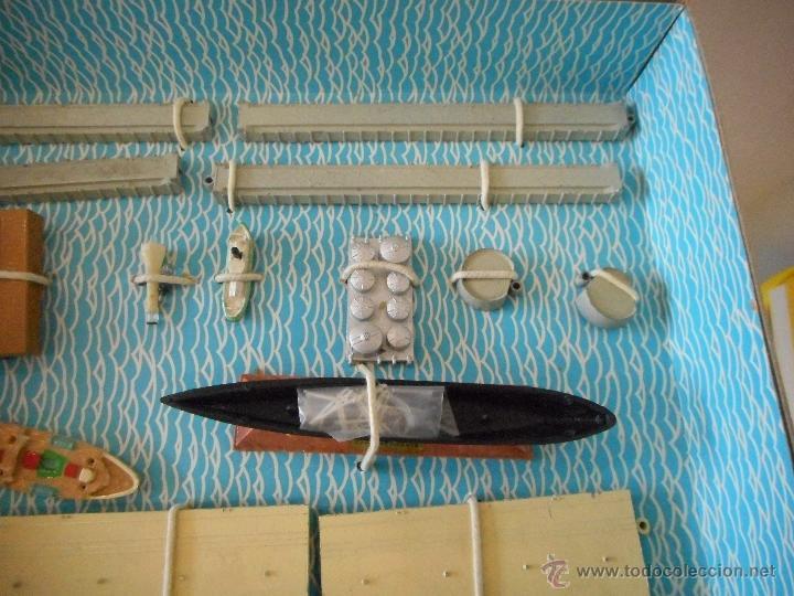 Juguetes antiguos: Puerto Mini Ships. Anguplas - Foto 3 - 54230770