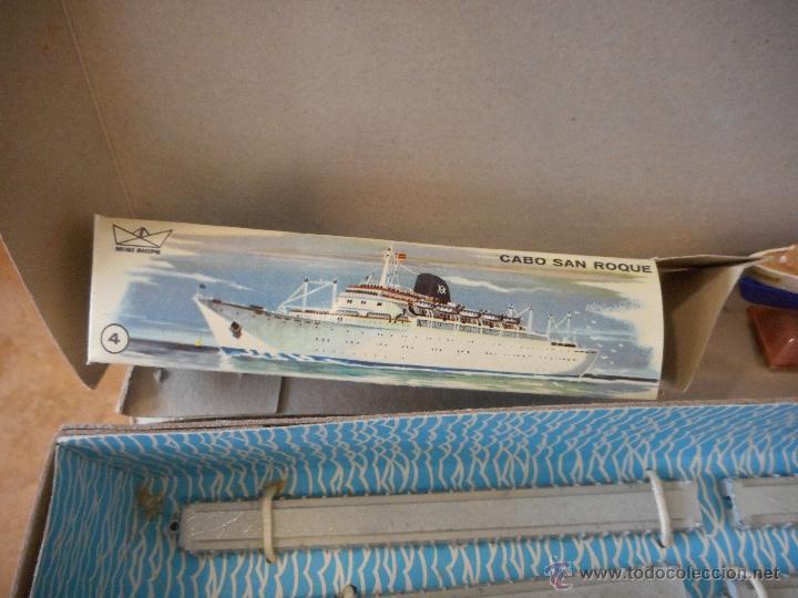 Juguetes antiguos: Puerto Mini Ships. Anguplas - Foto 5 - 54230770