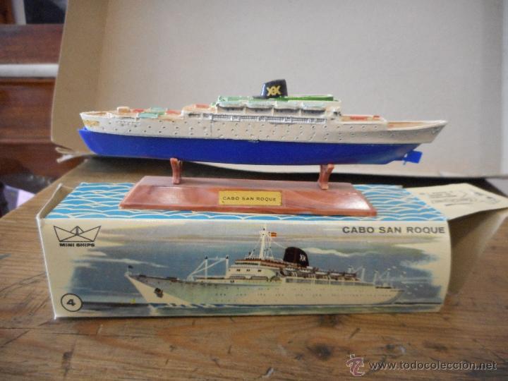 Juguetes antiguos: Puerto Mini Ships. Anguplas - Foto 6 - 54230770