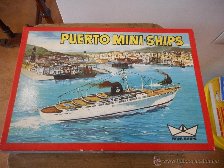 Juguetes antiguos: Puerto Mini Ships. Anguplas - Foto 8 - 54230770