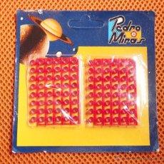 Juguetes antiguos: FULMINANTES DE PLÁSTICO,PEDRO MIRAS,PARA PISTOLAS,AÑO 1983. Lote 54570524