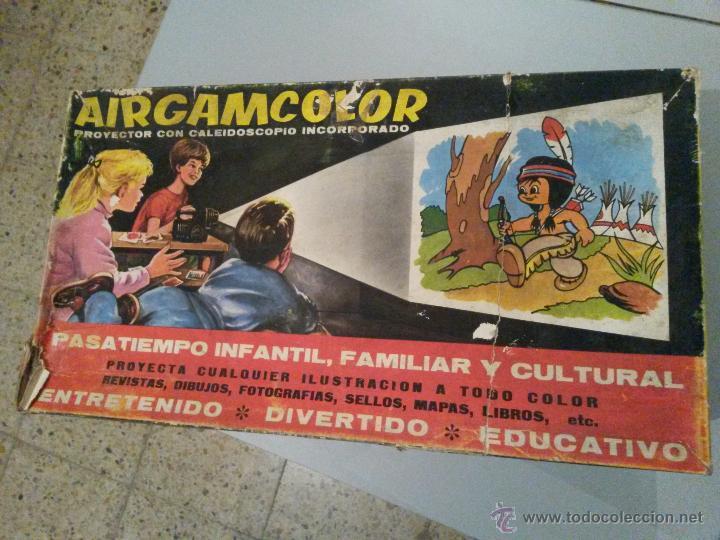 AIRGAMCOLOR CINE DE JUGUETE (Juguetes - Marcas Clasicas - Otras Marcas)