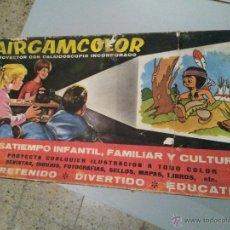Juguetes antiguos: AIRGAMCOLOR CINE DE JUGUETE. Lote 54636527