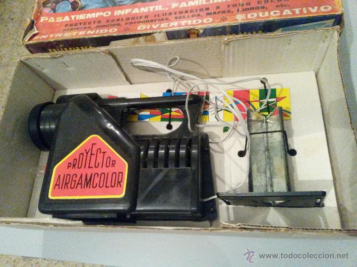 Juguetes antiguos: airgamcolor cine de juguete - Foto 2 - 54636527