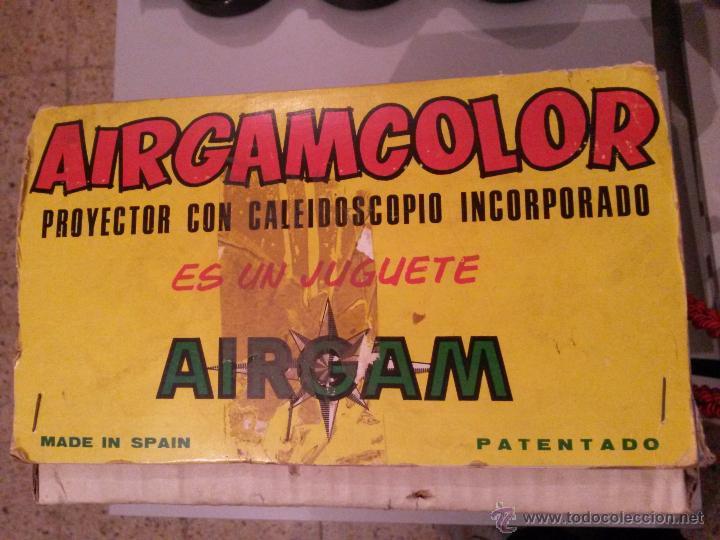 Juguetes antiguos: airgamcolor cine de juguete - Foto 3 - 54636527