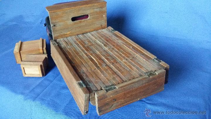 Juguetes antiguos: ESPECTACULAR CAMION DE CARGA EN MADERA - Foto 7 - 54659568