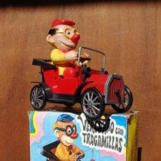 Juguetes antiguos: COCHE A CUERDA VERCORITO TRAGAMILLAS - VERCOR. Lote 54732205