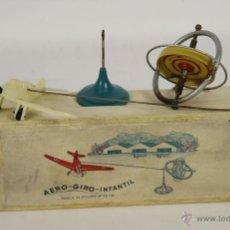 Juguetes antiguos: AERO GIRO INFANTIL. PENDULO GIROSCOPICO. AÑOS 50.. Lote 51923368