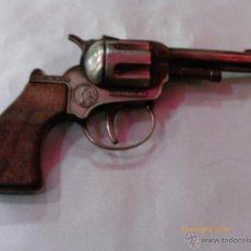 Brinquedos antigos: REVÓLVER METÁLICO (14 CM) PARA FULMINANTES DE 1 TIRO.GONHER - GONZALEZ 70S.NUEVO.. Lote 221601341