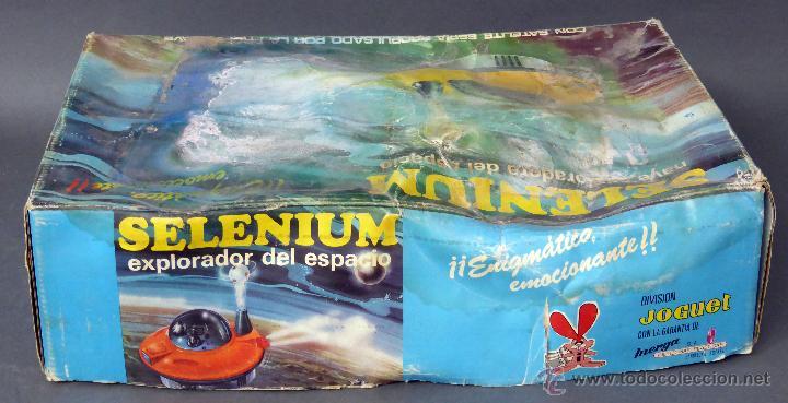 Juguetes antiguos: Selenium Nave exploradora del espacio Inerga Joguet años 70 No funciona - Foto 3 - 55078431