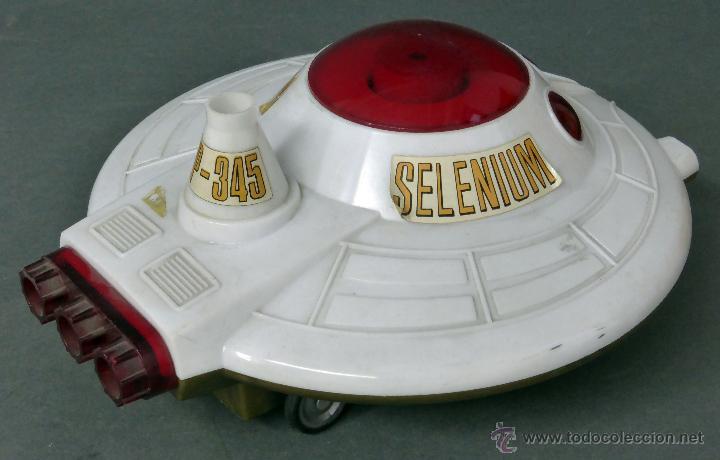 Juguetes antiguos: Selenium Nave exploradora del espacio Inerga Joguet años 70 No funciona - Foto 6 - 55078431