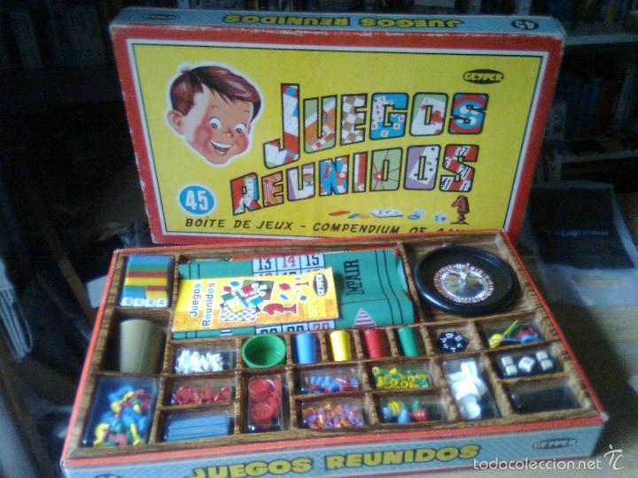 Juegos Reunidos Geyper 45 Primeros Anos 70 S Comprar Juguetes