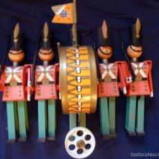 Juguetes antiguos: SOLDADITOS WALKY SON GEYPER. Lote 56852615