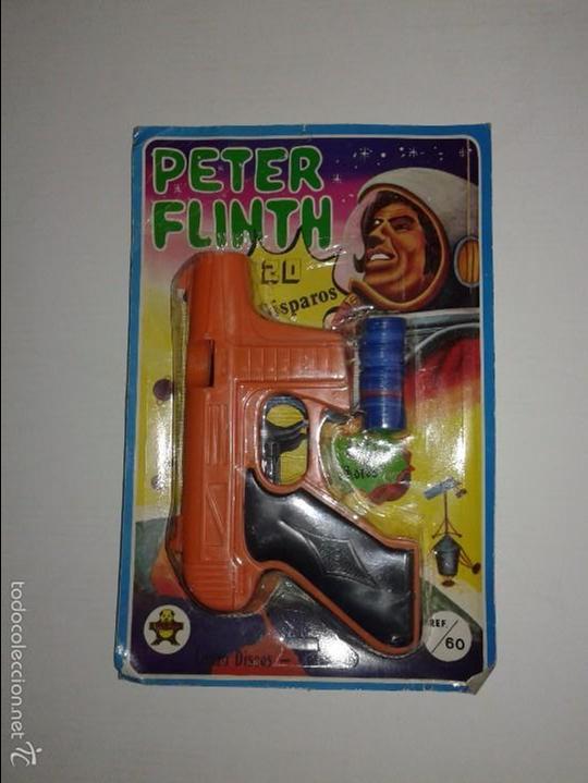 PISTOLA ESPACIAL PETER FLINTH (Juguetes - Marcas Clasicas - Otras Marcas)