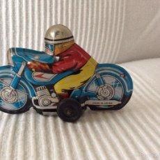 Juguetes antiguos: MOTO METAL MADE IN JAPAN. Lote 57165615