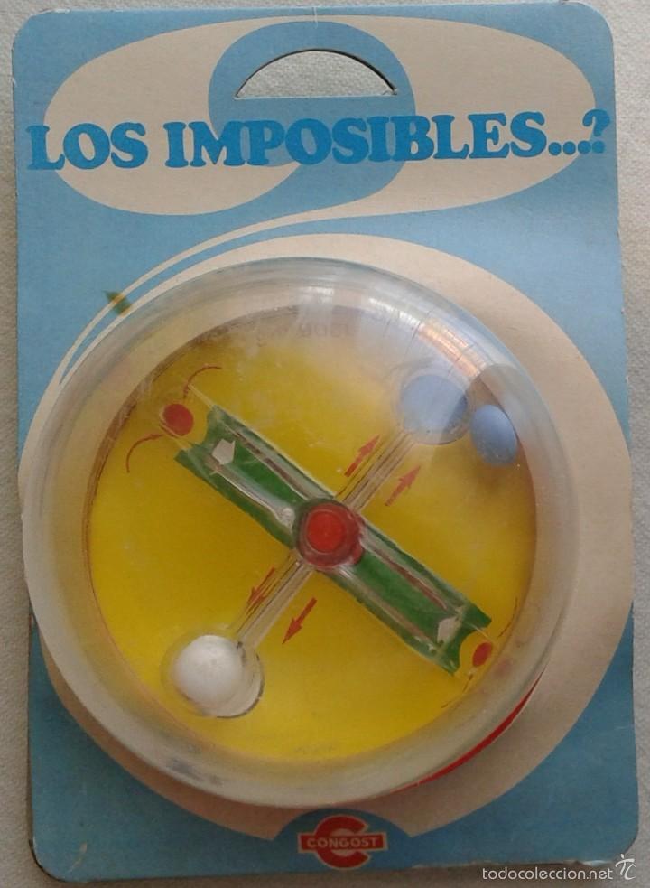 LOS IMPOSIBLES. CONGOST (Juguetes - Marcas Clasicas - Otras Marcas)