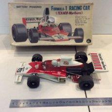 Juguetes antiguos: FÓRMULA 1 RACING CAR TEXACO MARLBORO ALPS MADE IN JAPAN. Lote 57887409
