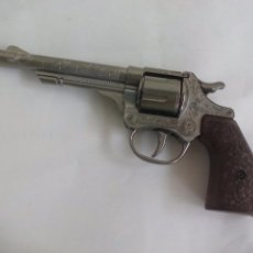 Juguetes antiguos: PISTOLA O REVOLVER DE FULMINANTES GONHER NO. 80. MADE IN SPAIN IBI ALICANTE. Lote 57891543