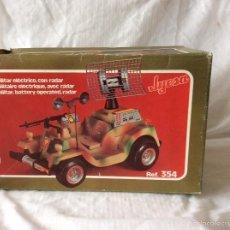 Jeep militar de Jyesa electrico