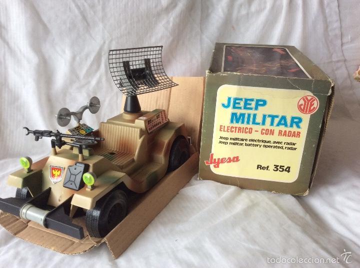 Juguetes antiguos: Jeep militar de Jyesa electrico - Foto 2 - 58000282