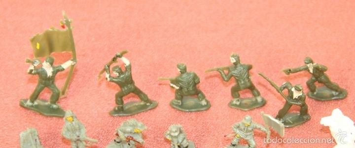 Juguetes antiguos: COLECCIÓN DE 220 MICRO MINIATURAS EN RESINA. EKO. ESPAÑA. CIRCA 1960. - Foto 3 - 58178527