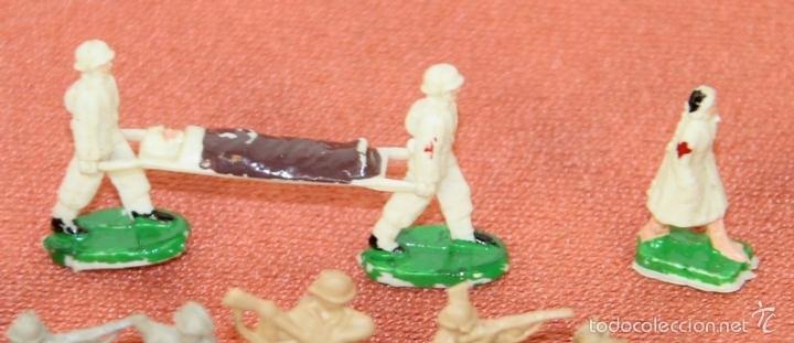 Juguetes antiguos: COLECCIÓN DE 220 MICRO MINIATURAS EN RESINA. EKO. ESPAÑA. CIRCA 1960. - Foto 4 - 58178527