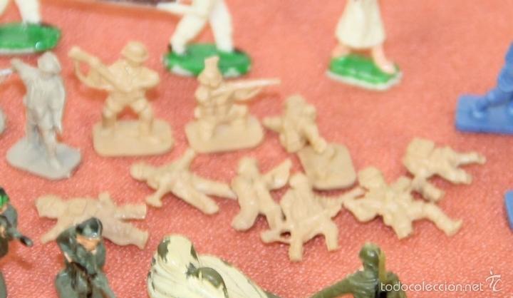 Juguetes antiguos: COLECCIÓN DE 220 MICRO MINIATURAS EN RESINA. EKO. ESPAÑA. CIRCA 1960. - Foto 8 - 58178527