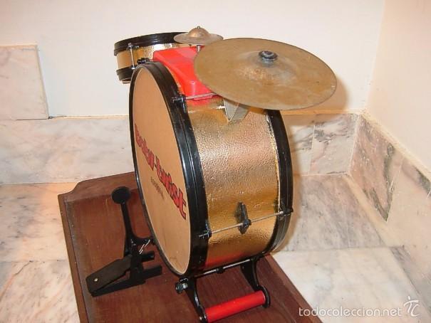 Juguetes antiguos: BATERIA BABY TWIST DE AIRGAM, YE YE, AÑOS 60 - Foto 4 - 58354244