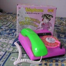 Juguetes antiguos: TELEFONO HUCHA DE LA CASA PEPE. Lote 58429217