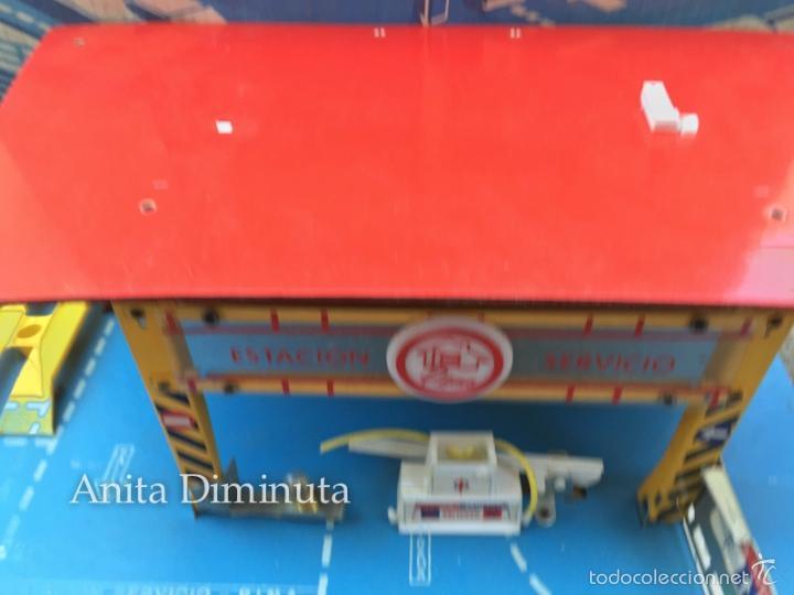 Juguetes antiguos: MINI ESTACION PLEGABLE GARAJE RIMA - EN SU CAJA ORIGINAL - - Foto 8 - 58665799