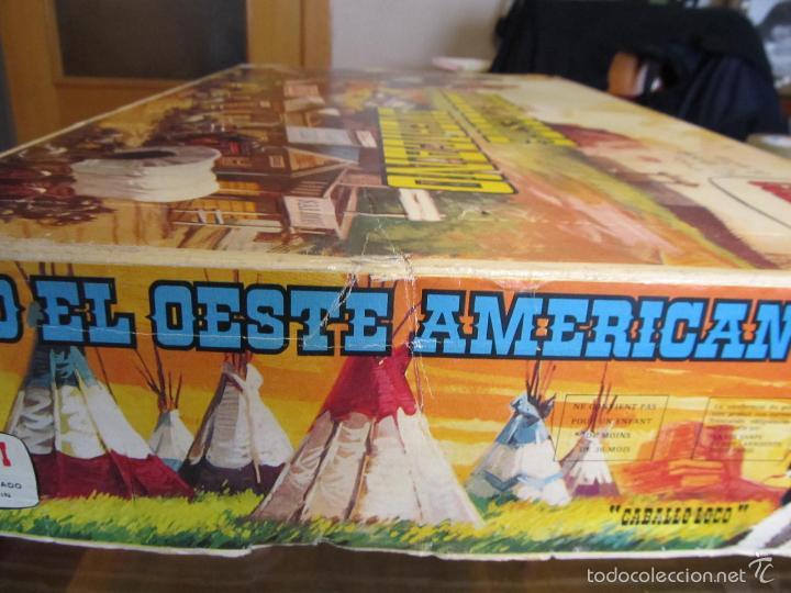 Juguetes antiguos: M69 JUGUETE DE COMANSI AÑOS 70 TODO EL OESTE AMERICANO REF 171 /71 - Foto 3 - 59696911