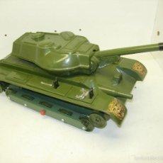 Juguetes antiguos: TANQUE TIGRE LANZA-VENTOSAS T-206 DE CLIM. Lote 59978579
