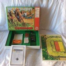 Juguetes antiguos: CANODROMO DE MATTEL. Lote 60253279