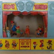 Juguetes antiguos - Mini teatro Airgam, original de los años 60 - 60287923