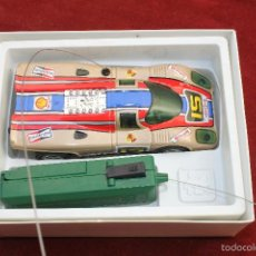 Juguetes antiguos: PORCHE 917, RADIO CONTROL, VALTOY, VALENCIANA DEL JUGUETE, AÑOS 80. Lote 68073529