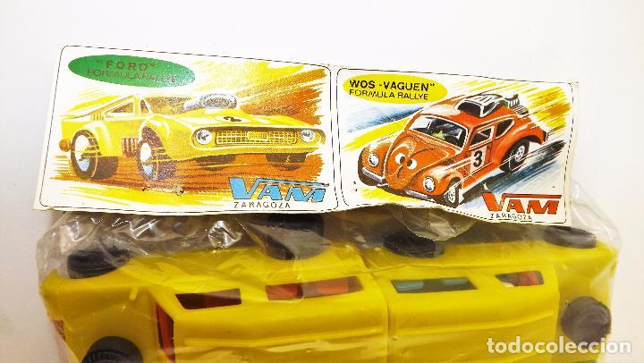 Juguetes antiguos: VAM Bolsa original Land Rover 10 unidades - Foto 8 - 217368207