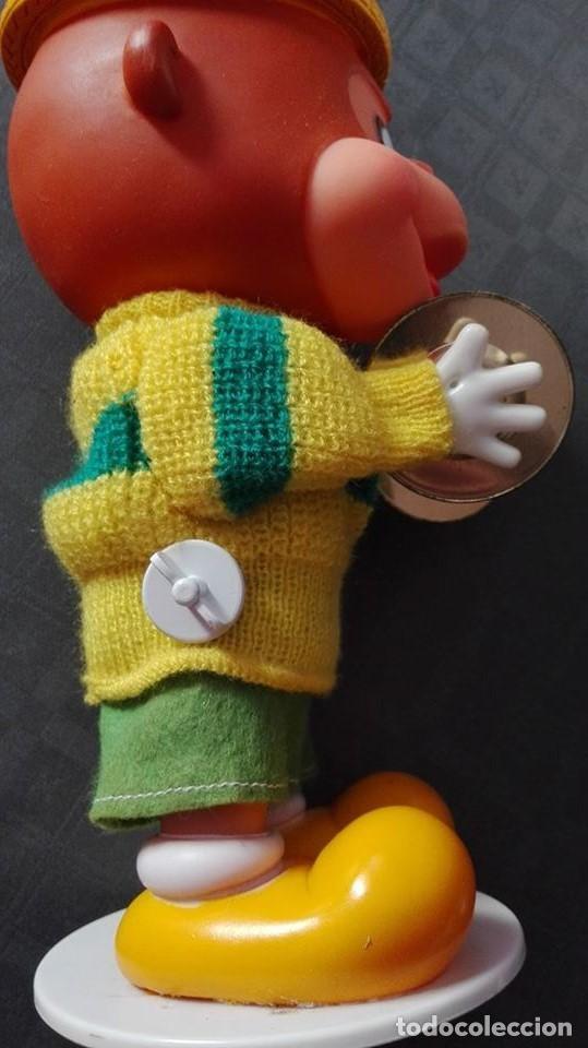 Juguetes antiguos: mono con platillos- mi happy toy años 70 - Foto 2 - 65435597