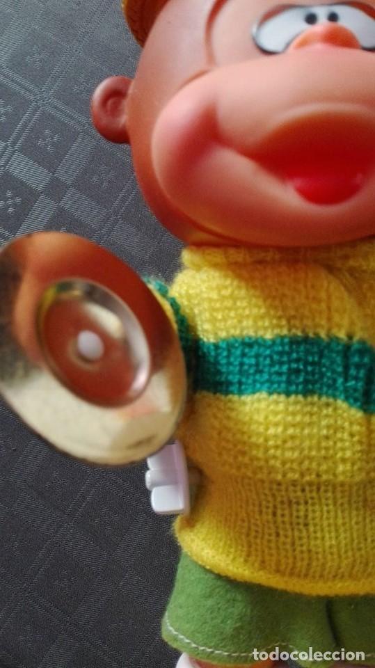 Juguetes antiguos: mono con platillos- mi happy toy años 70 - Foto 9 - 65435597
