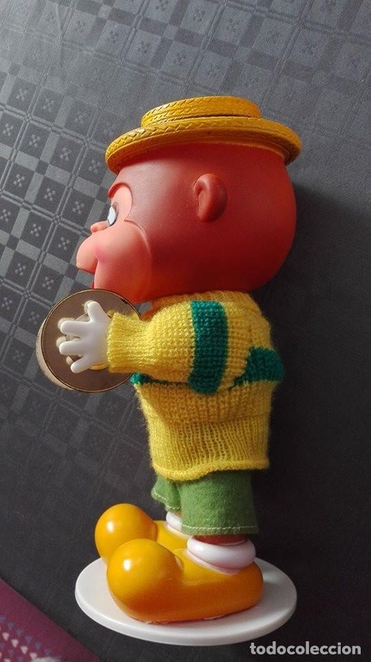 Juguetes antiguos: mono con platillos- mi happy toy años 70 - Foto 10 - 65435597