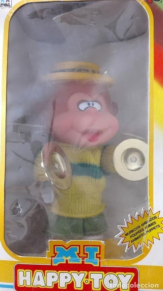 Juguetes antiguos: mono con platillos- mi happy toy años 70 - Foto 12 - 65435597