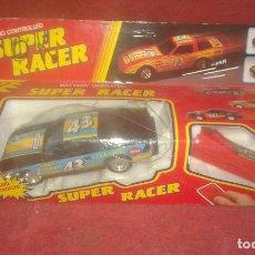 Juguetes antiguos - COCHE CHINO RADIO CONTROL SUPER RACER - 65852846