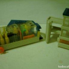 Juguetes antiguos: MICRO MACHINES TUNEL LAVADO DE COCHES RARO. Lote 66446102