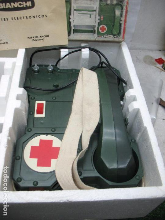 Juguetes antiguos: BIANCHI - Acción Rescate de plástico teléfonos con mecanismo a pilas - Foto 2 - 67575049