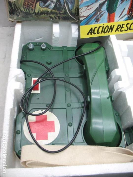 Juguetes antiguos: BIANCHI - Acción Rescate de plástico teléfonos con mecanismo a pilas - Foto 3 - 67575049