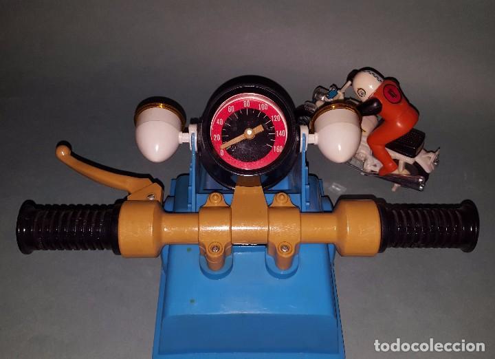 Juguetes antiguos: MOTO SPRINT NACORAL JUGUETE ARO DE PLATA 1979 - Foto 2 - 67822017