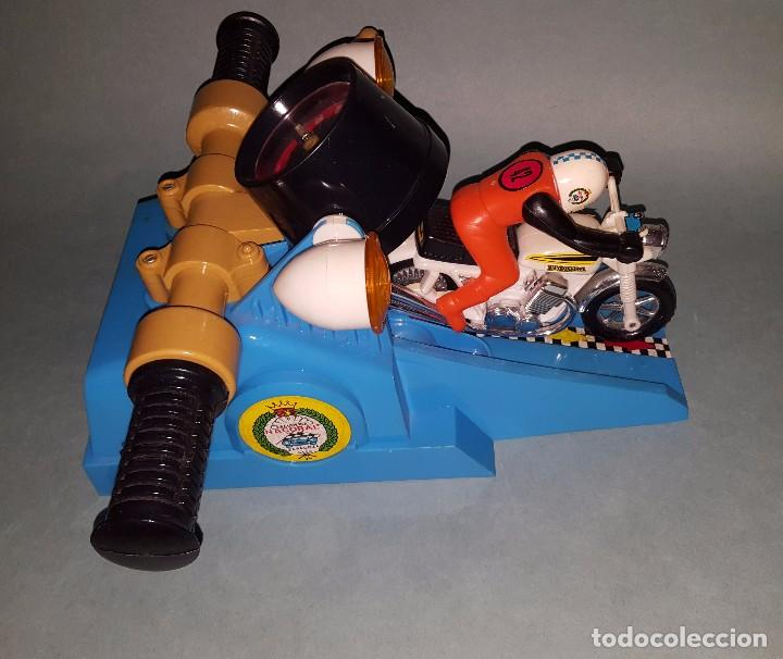 Juguetes antiguos: MOTO SPRINT NACORAL JUGUETE ARO DE PLATA 1979 - Foto 3 - 67822017