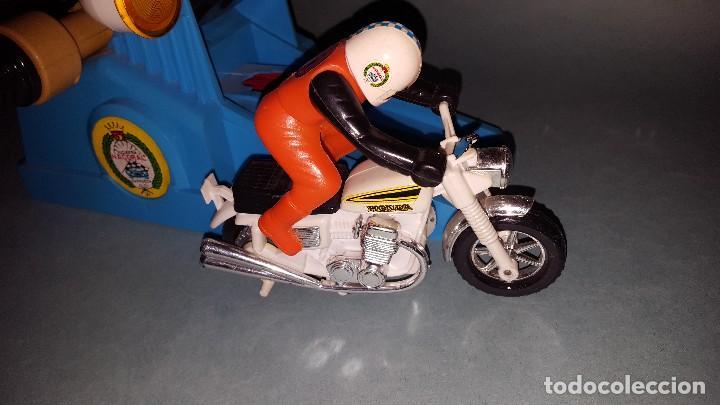 Juguetes antiguos: MOTO SPRINT NACORAL JUGUETE ARO DE PLATA 1979 - Foto 5 - 67822017