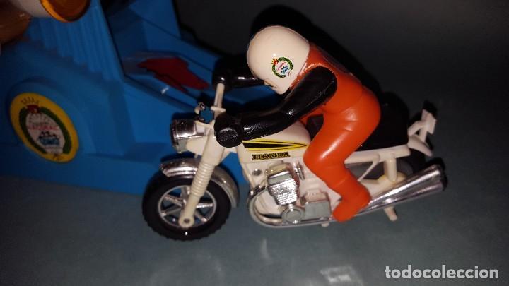 Juguetes antiguos: MOTO SPRINT NACORAL JUGUETE ARO DE PLATA 1979 - Foto 6 - 67822017