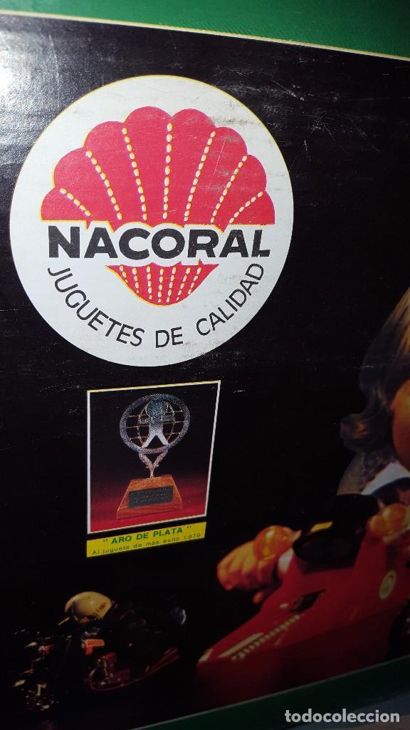 Juguetes antiguos: MOTO SPRINT NACORAL JUGUETE ARO DE PLATA 1979 - Foto 8 - 67822017